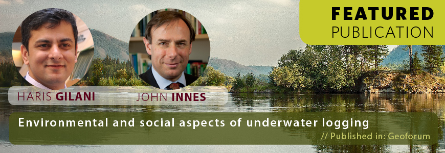 Environmental and Social Aspects of Underwater Logging